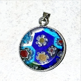 Millefiori Pendant | New Earth Gifts