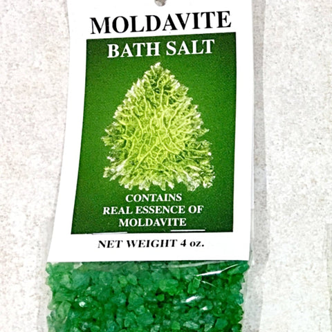 Moldavite Bath Salts | New Earth Gifts