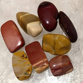 Mookaite Polished Tumbled Stone 1 pc - New Earth Gifts