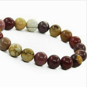 Mookaite Power Bracelet for Happiness and Joy-6mm - New Earth Gifts