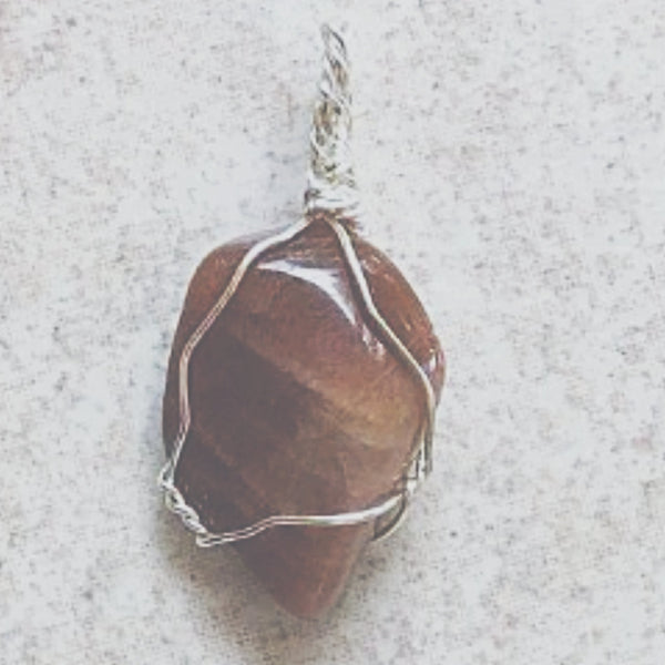 Moonstone Pendant Sterling Silver | New Earth Gifts