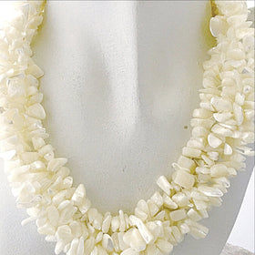 Mother of Pearl Multi Strand Necklace - New Earth Gifts