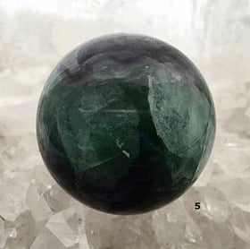 Natural Fluorite Sphere - Polished For Sale New Earth Gifts