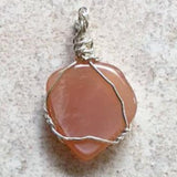 Natural Genuine Moonstone Pendants Silver Wiring For Sale New Earth Gifts