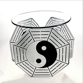 Oil Burner Yin Yang Style  - New Earth Gifts