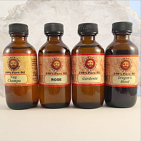 Aromatherapy Oils, 2 oz Bottle, 100% Pure Oil - New Earth Gifts
