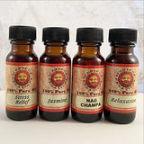 Aromatherapy Oils, .5 Oz Bottle, 100% Pure Oil - New Earth Gifts