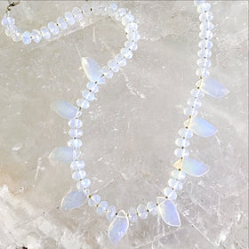 Opalite Choker Handcrafted  | New Earth Gifts