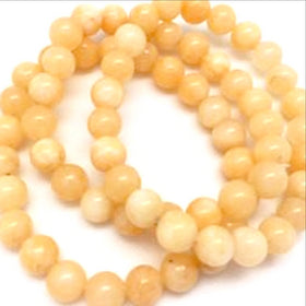 Peach Calcite Power Bracelets-8mm - New Earth Gifts