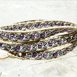 Beaded 3 Wrap Bracelet - New Earth Gifts