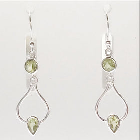 Peridot earrings - New Earth Gifts