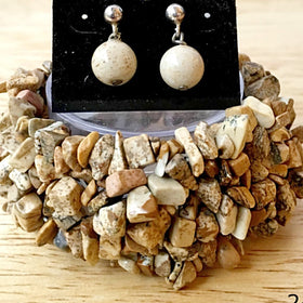 Picture Jasper Cuff Bracelet - New Earth Gifts