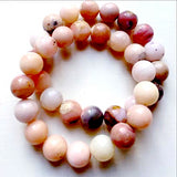 Pink Opal Power Bracelet - Peruvian Pink Opal for Inspiration-9mm | New Earth Gifts