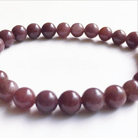 Plum Jade Power Bracelet - New Earth Gifts