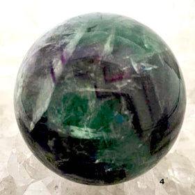 Polished Fluorite Sphere For Sale New Earth Gifts
