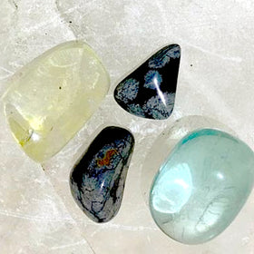 Powerful Protection Stone Set - Obsidian For Sale New Earth Gifts