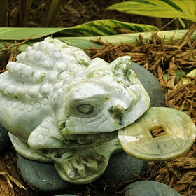 Jade Lucky Frog-Feng Shui Prosperity Symbol | New Earth Gifts