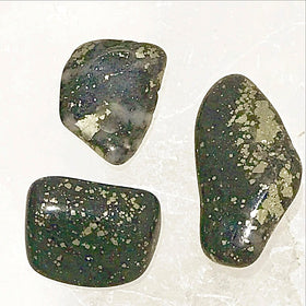 Pyrite Polish Tumbled Stone 1 pc  - New Earth Gifts
