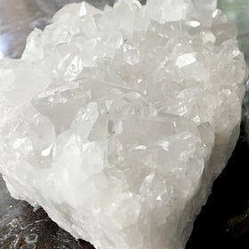 Quartz Broad XL Cluster Crystal With Clear Points For Sale New Earth Gifts