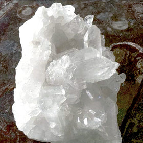 Quartz Cluster XL With Milky Points For Sale New Earth Gifts