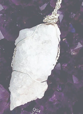 Large Quartz Geode Pendant For Sale New Earth Gifts