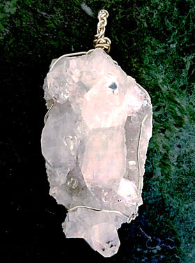 Crystal Quartz Medallion for Vibrant Energy - New Earth Gifts