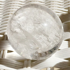 Quartz Crystal 50mm Spheres | New Earth Gifts