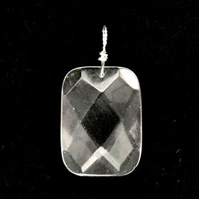 Clear Quartz Faceted Pendant - New Earth Gifts