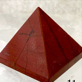 Red Jasper Pyramid 1.5 Inches