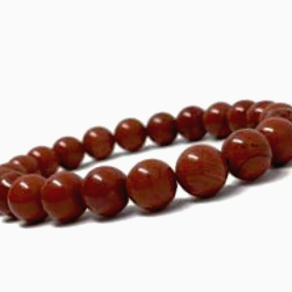 Red Jasper Power Bracelet to Energize for Health-8mm New Earth Gifts