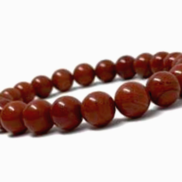 Red Jasper Power Bracelet to Energize for Health-6mm - New Earth Gifts