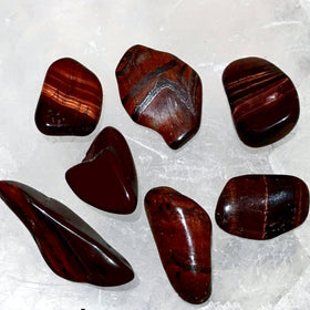 Red Tiger Eye 1 pc Tumbled Stone