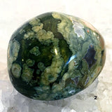Rhyolite Massage Stone - Rainforest Jasper - New Earth Gifts
