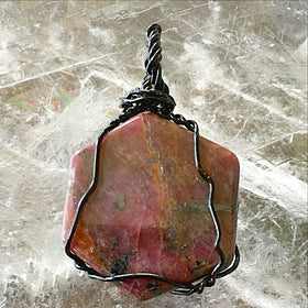 Ruby In Zoisite Pendant - new earth gifts