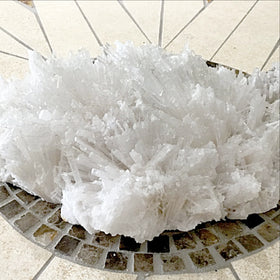 Scolecite Zeolite Cluster Of Crystals For Sale New Earth Gifts