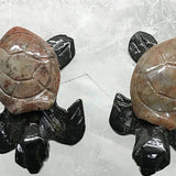 Gemstone Sea Turtles Pair - New Earth Gifts