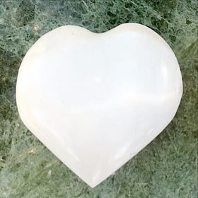 White Selenite Heart - New Earth Gifts