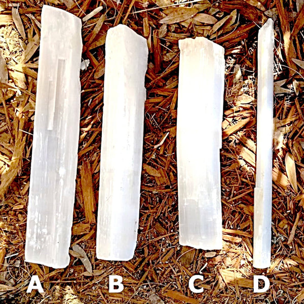 Selenite Log - Extra Large Selenite Sticks - New Earth Gifts