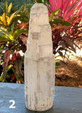 Selenite 6 Inch Tower - New Earth Gifts