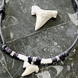White Sharktooth Pendant & Specimen Set | New Earth Gifts