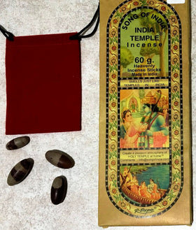 Shiva Lingams and Incense Gift Set - New Earth Gifts