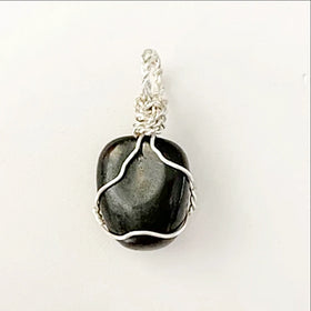 shungite pendant - new earth gifts
