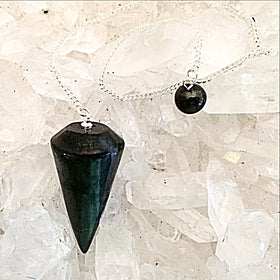 shungite pendulum - new earth gifts