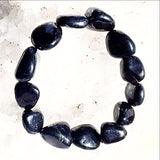Shungite Natural Tumbled Stone Bracelet - New Earth Gifts