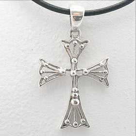 Cross Pendant Sterling Silver - New Earth Gifts