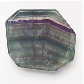 Fluorite Flourished Slabs - Natural Colors For Sale New Earth Gifts