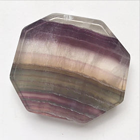 Fluorite Polished Slab - Soft Natural Colors | New Earth Gifts