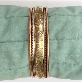 Copper Bangle - new earth gifts