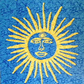 Sun Tapestry - Blue - New Earth Gifts