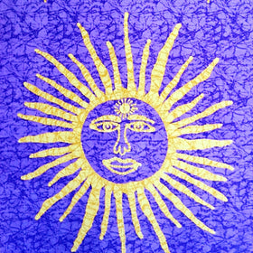 Sun Tapestry - Purple - New Earth Gifts